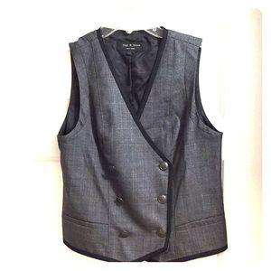 rag & bone Jackets & Coats - Rag & bone structured 💯% wool vest Size 4.